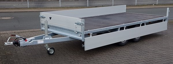 Anssems PSX-S 2500.405x178 stabiler Tandemhochlader, 2500kg, 405x178x30cm