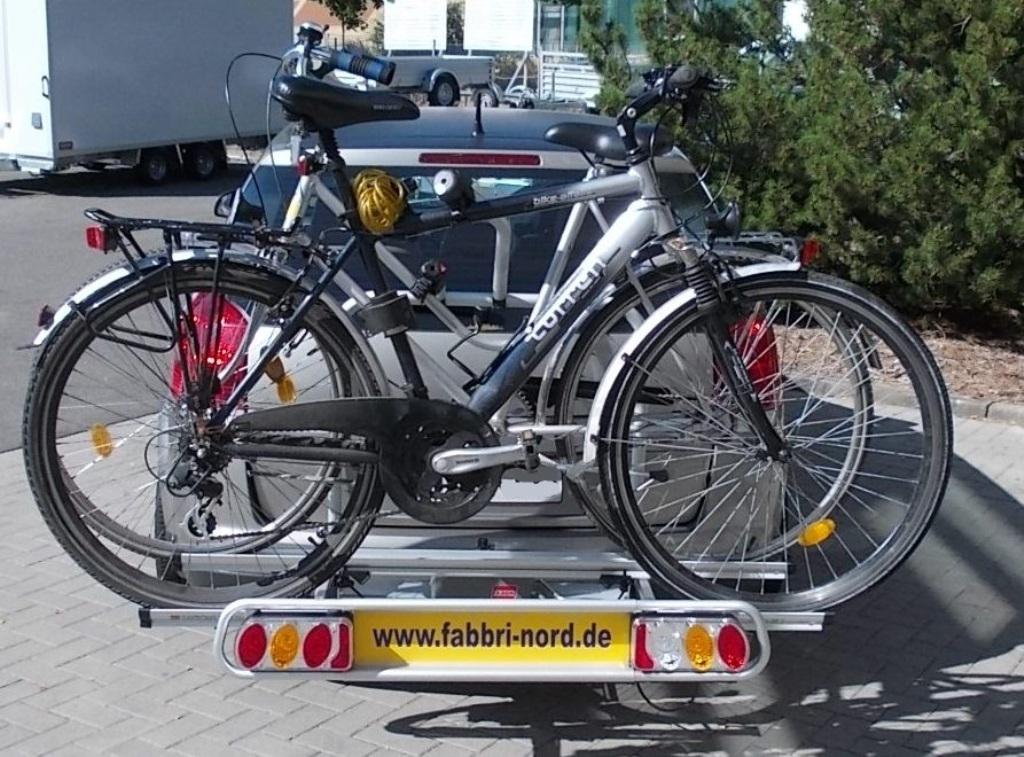 Fabbri Nr 6201981 Elektro Bike Exclusiv Deluxe 2 Heckträger